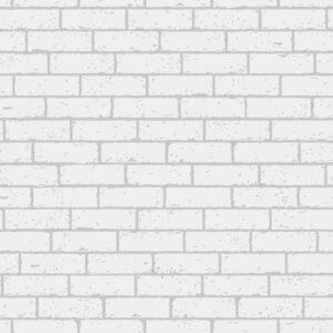 Papel de Parede Adesivo Mini Tijolo Branco 2,70 x 0,57m