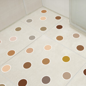 Adesivo Piso Banheiro Antiderrapante Bolinhas Quentes