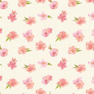 Papel de Parede de Flores Adesivo Florido