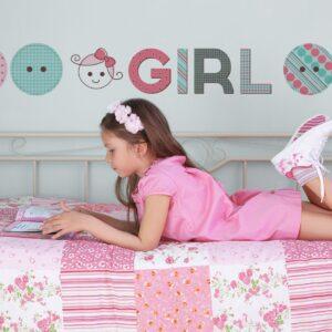 Adesivo de Parede Girl