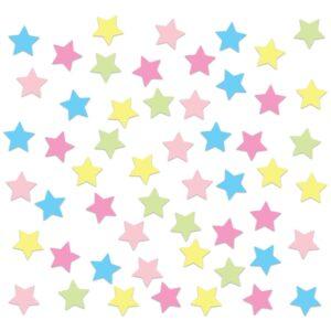 Adesivo de Parede Estrelas Coloridas Candy Colors