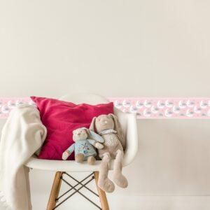 Adesivo de Parede Faixa Decorativa Infantil Soneca 10m x 10cm